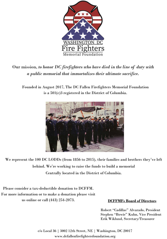 RETIRED FIREFIGHTER'S ASSOCIATION OF WASHINGTON, D C  - DCRFA Home